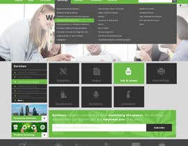 #29 untuk Design a Website Mockup for TheGreenOffice.com oleh faizalmohamed88
