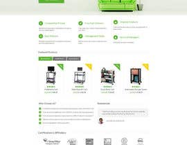 #31 untuk Design a Website Mockup for TheGreenOffice.com oleh Comphics