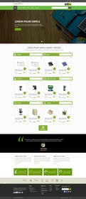 #15 untuk Design a Website Mockup for TheGreenOffice.com oleh ankisethiya