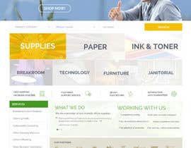 #48 untuk Design a Website Mockup for TheGreenOffice.com oleh AustralDesign