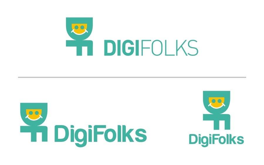 Bài tham dự cuộc thi #8 cho Create a logo for Digifolks, a new Digital Marketing Consulting Company