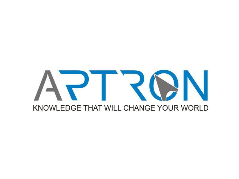 """Contest Entry #                                        74                                      for                                         Design a Logo for """"APTRON"""""""