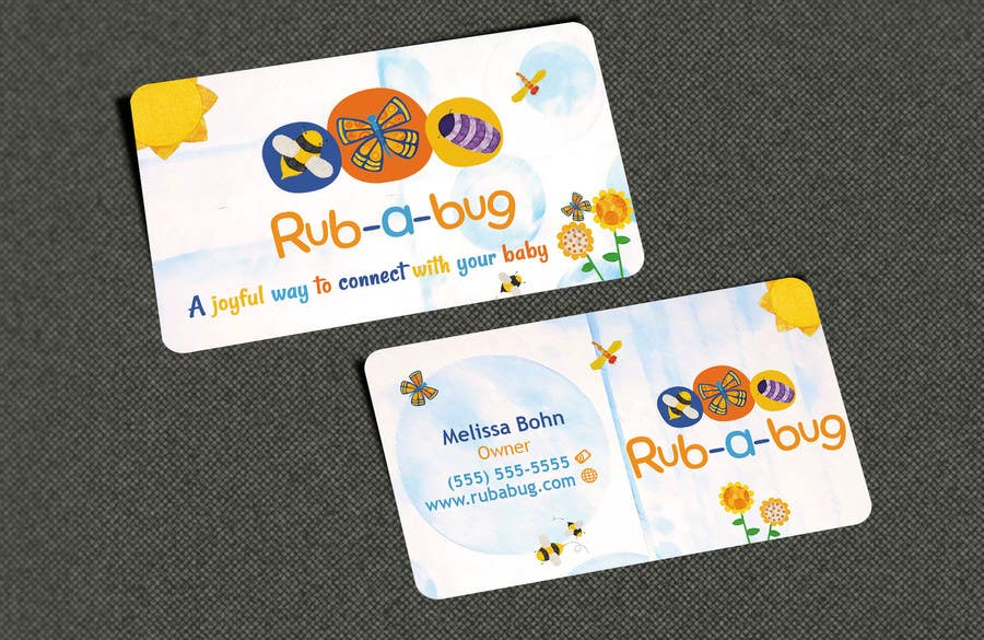 Contest Entry #                                        15                                      for                                         Design some Business Cards for Rub-a-Bug