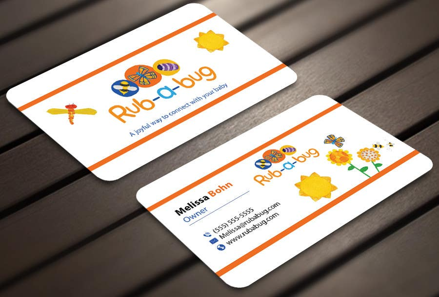 Contest Entry #                                        18                                      for                                         Design some Business Cards for Rub-a-Bug