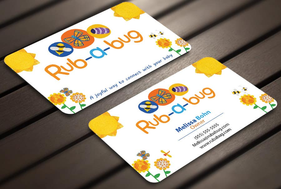 Contest Entry #40 for Design some Business Cards for Rub-a-Bug