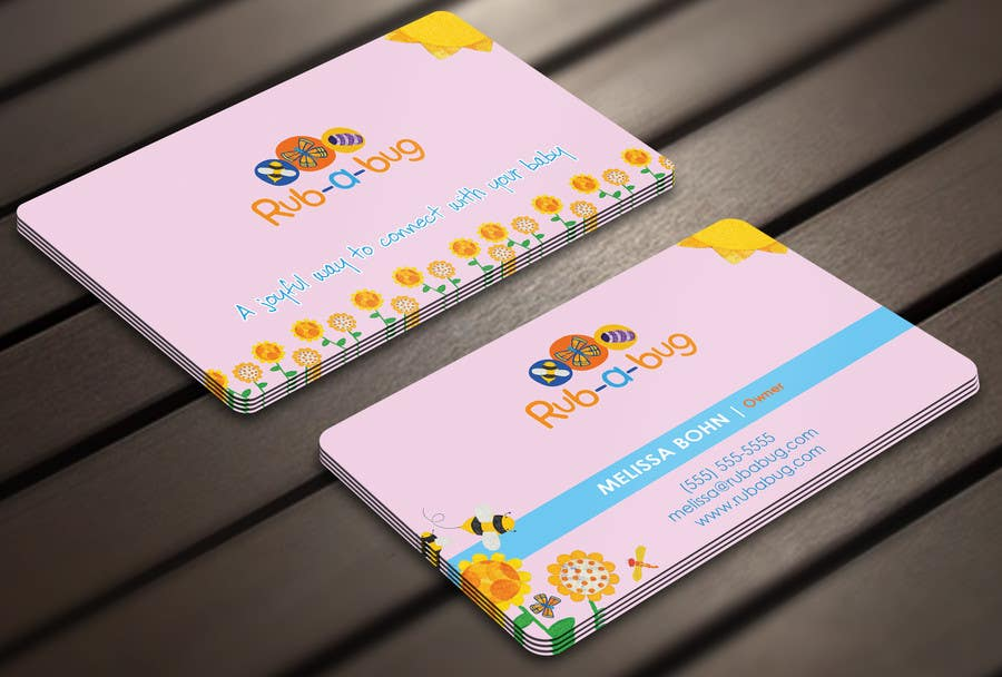 Contest Entry #                                        27                                      for                                         Design some Business Cards for Rub-a-Bug