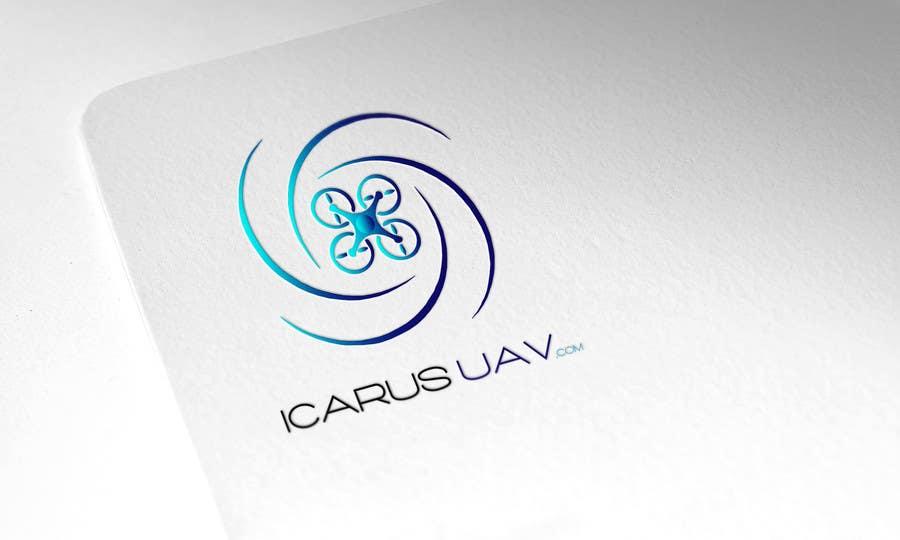 Konkurrenceindlæg #                                        11                                      for                                         Design a Logo for ICARUS UAV.COM