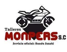#43 for Diseñar un logotipo para una empresa de venta y reparación de motocicletas af lalocazaresrosas