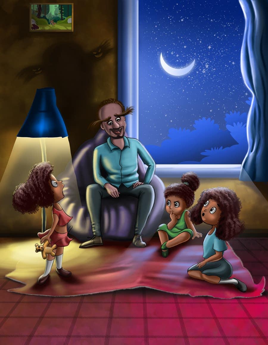 Konkurrenceindlæg #                                        4                                      for                                         Illustrate a Children's Book