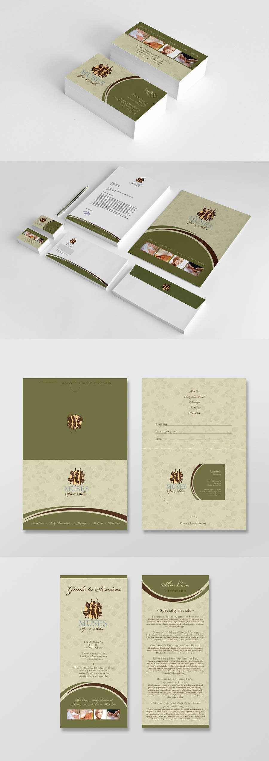 Proposition n°22 du concours Business Card, Letterhead, Brochure, Gift Card, and Gift Card holder redesign
