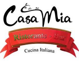 nº 22 pour Casa Mia Ristorante 2 par ccgraphicdes