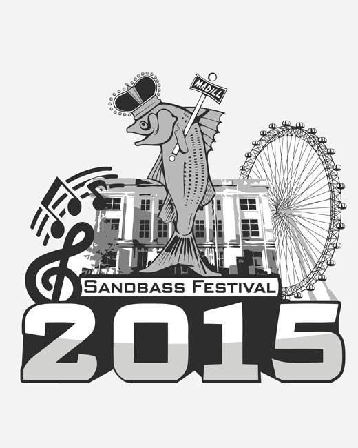 Contest Entry #                                        12                                      for                                         Design a T-Shirt for SandBass Festival