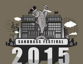 Nro 5 kilpailuun Design a T-Shirt for SandBass Festival käyttäjältä Trehankrismal
