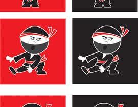 #33 para Design a logo / mascot character: adorable ninja! por Robpurl