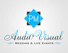 #19 for Design a Logo for company named P.M. Audio Visual by kreativecolorz