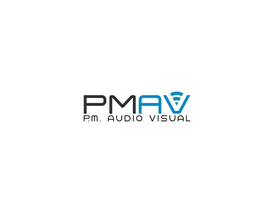 Konkurrenceindlæg #                                        16                                      for                                         Design a Logo for company named P.M. Audio Visual