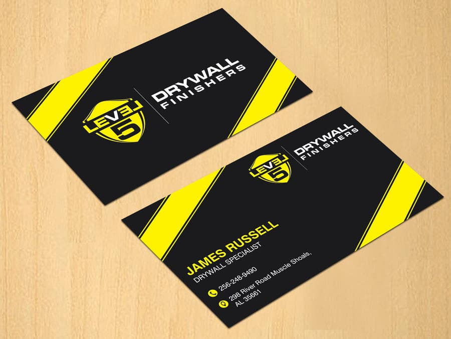 Entry #74 by dinesh0805 for Design some Business Cards for Drywall ...