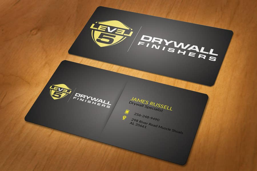Entry #28 by akhi1sl for Design some Business Cards for Drywall ...