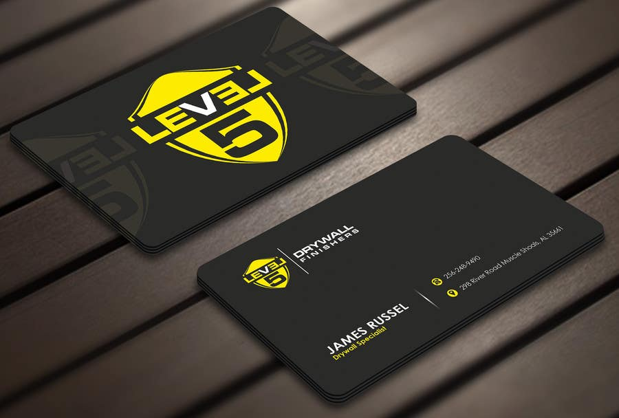 Entry 19 By Derard For Design Some Business Cards For Drywall