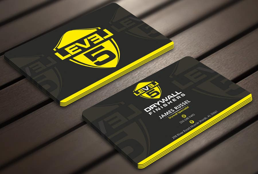 Entry #21 by Derard for Design some Business Cards for Drywall ...