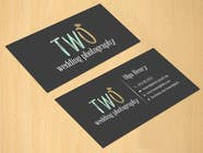 Graphic Design Konkurrenceindlæg #15 for Design some Business Cards for wedding photographers