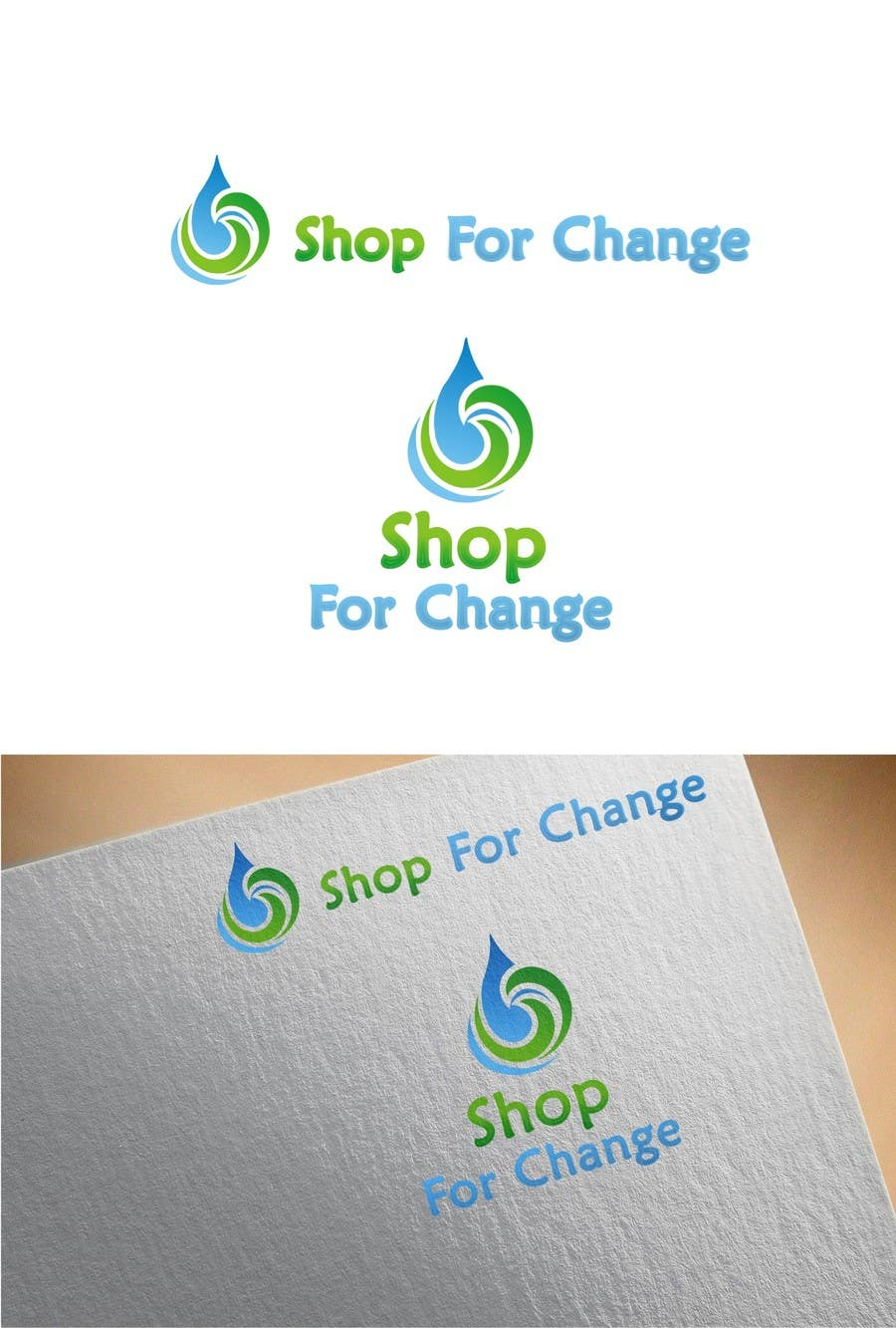 """Contest Entry #22 for Design a Logo for """"Shop for Change"""""""
