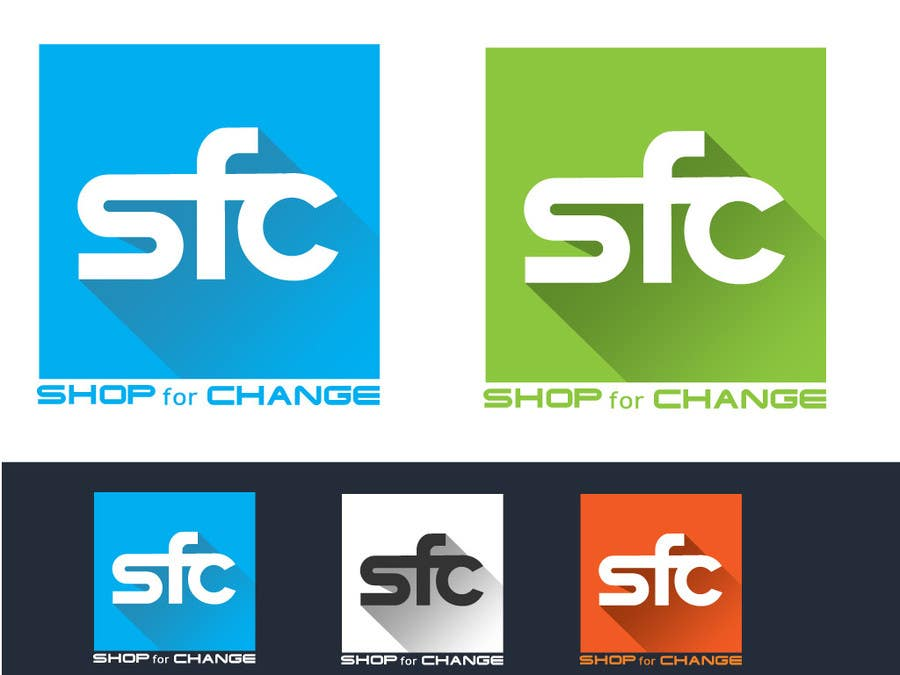 """Contest Entry #26 for Design a Logo for """"Shop for Change"""""""