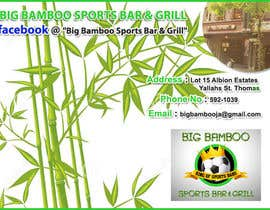 #5 para Design a Flyer for my sports bar por Thomas521