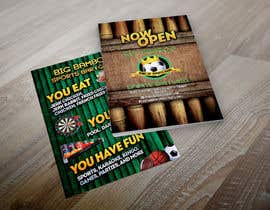 #10 para Design a Flyer for my sports bar por abudabi3