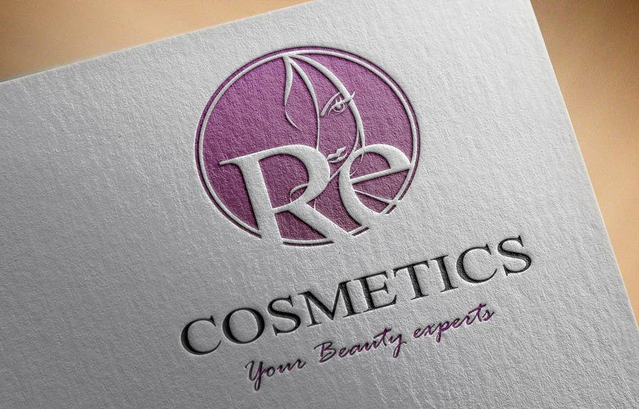 Konkurrenceindlæg #                                        44                                      for                                         Design a Logo for cosmetics shop