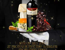 elizewatkins tarafından Design a Flyer for wine,cheese and chocolate show için no 22
