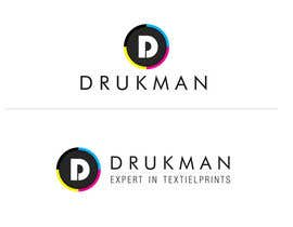 Hassan12feb tarafından Ontwerp een Logo for a new company in screenprinting DRUKMAN için no 63