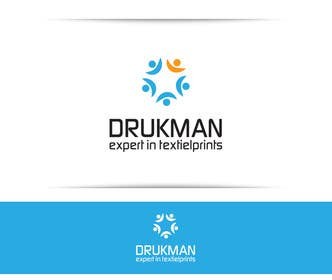 #82 for Ontwerp een Logo for a new company in screenprinting DRUKMAN af SergiuDorin