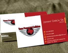 #22 untuk Design some Business Cards for Jake 1 Tx F oleh Fazy211995