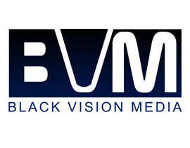 #35 para Design a Logo for Black Vision Media por logoup