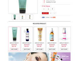 #11 cho Design a Website for PARSA SKIN CARE bởi webidea12
