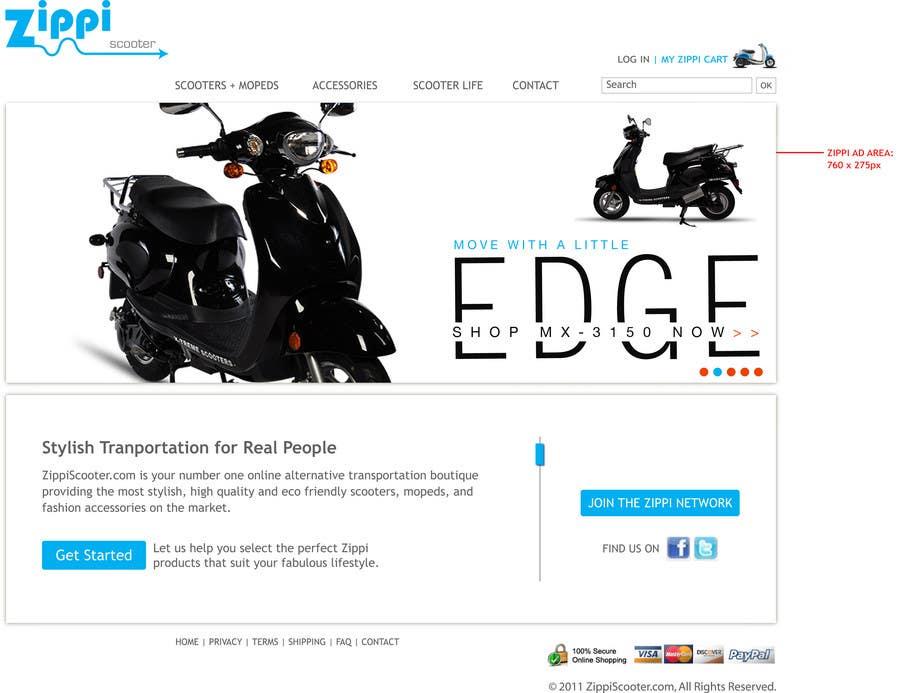 Konkurrenceindlæg #                                        20                                      for                                         ZippiScooter.com Ad Campaign