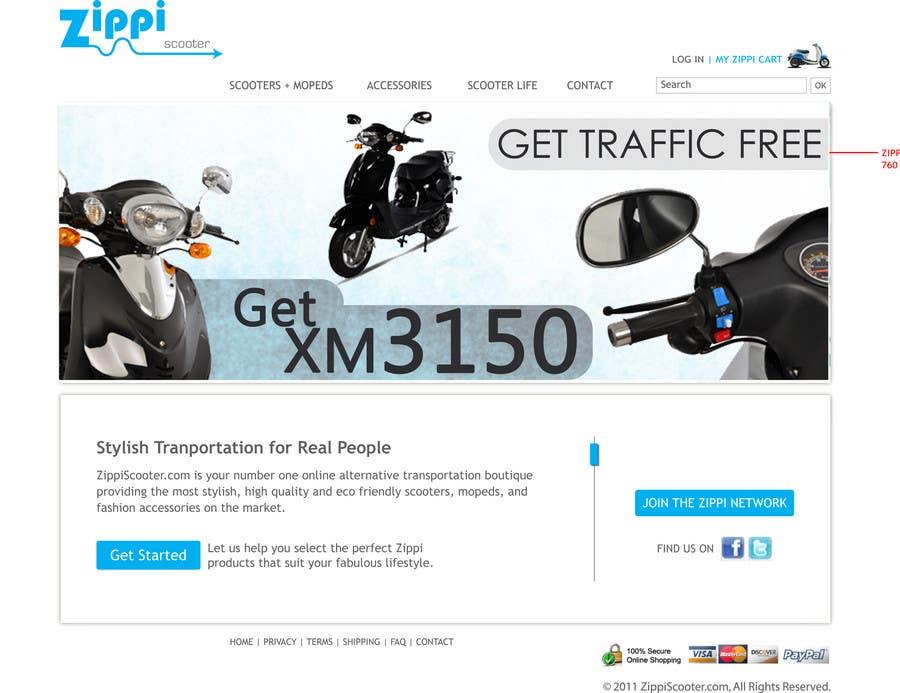 Konkurrenceindlæg #                                        15                                      for                                         ZippiScooter.com Ad Campaign