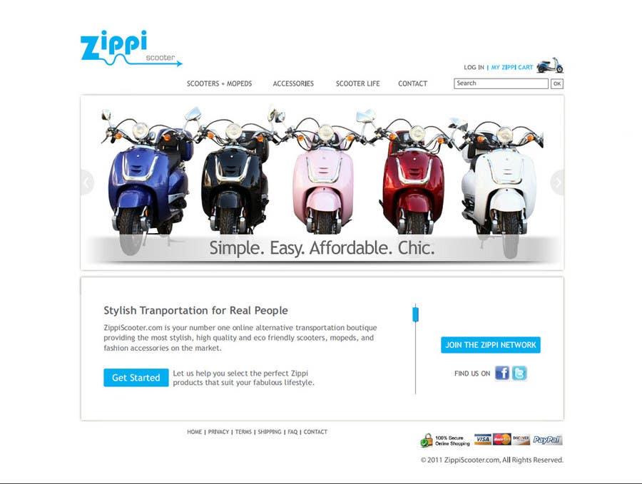 Konkurrenceindlæg #                                        12                                      for                                         ZippiScooter.com Ad Campaign