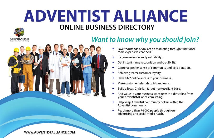 Contest Entry #                                        3                                      for                                         Design an Advertisement for AdventistAlliance.com