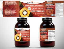 #9 para Red Palm Oil Label por viveksingh29