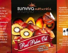 #6 para Red Palm Oil Label por Hammadbhatty