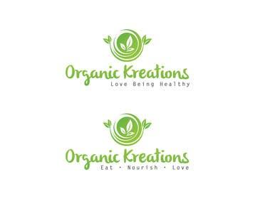 #62 cho Design a Logo for Organic Kreations bởi feroznadeem01