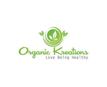 #63 cho Design a Logo for Organic Kreations bởi feroznadeem01