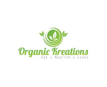 #64 cho Design a Logo for Organic Kreations bởi feroznadeem01