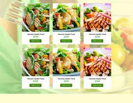 #1 for Design a Website Mockup for A Health Food Shop af aryamaity
