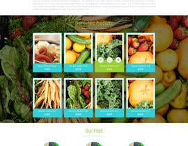 #3 for Design a Website Mockup for A Health Food Shop af oceanganatra