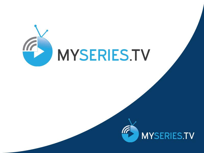 Konkurrenceindlæg #                                        15                                      for                                         Design a Logo for a website about TV series