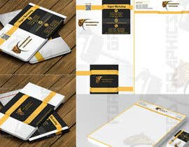 #6 untuk Design a letterhead and business cards for a commodities company oleh forgedgraphics