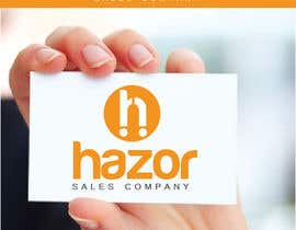 """Nro 94 kilpailuun Design company Logo """"Hazor"""" käyttäjältä alexandracol"""